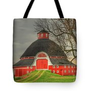 The Old Round Barn Of Ohio Tote Bag