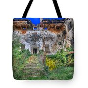 The Old Ruined Castle Tote Bag