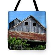 The Old Rusty Barn Tote Bag