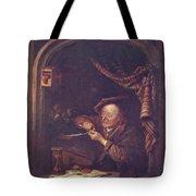 The Old Schoolmaster 1671 Tote Bag