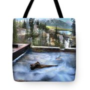 The Old Penstock Platform? Tote Bag