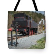 The Old Steam Locomotive Tote Bag