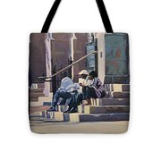 The Old Stone Church Tote Bag
