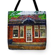 The Old Train Station Tote Bag