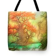 The Old Tree Of The Forest Tote Bag