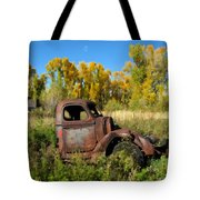 The Old Truck  Chama New Mexico Tote Bag