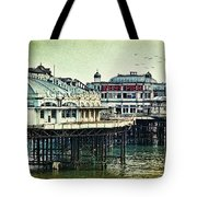 The Old Victorian West Pier Tote Bag