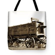 The Old Wagon Tote Bag