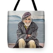 The Old Waterman Tote Bag by Kevin Daly