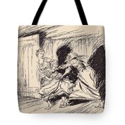 The Old Woman Seized Her By The Gown Tote Bag