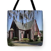 The Old Wooden Church Tote Bag