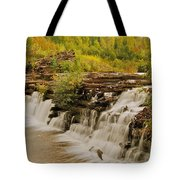 The Old Wooden Dam Tote Bag