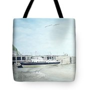 The Oldenburg At Ilfracombe Harbour Tote Bag