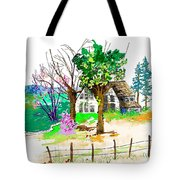 The Ole House In Spring Tote Bag