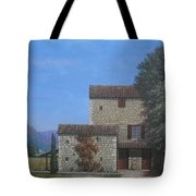 The Olive Mill Province Tote Bag
