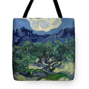 The Olive Trees Tote Bag