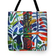 The One Who Dwells In The Heart Of All Things Tote Bag