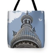 The Onion Of The Sky Tote Bag