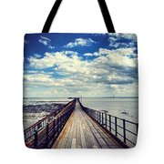 The Only Way Tote Bag