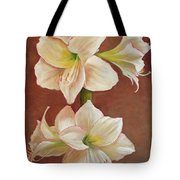 The Opening Flower Tote Bag