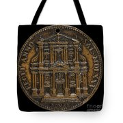 The Opening For Worship Of The Chiesa Del Gesu, Rome [reverse] Tote Bag