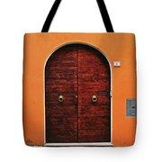 The Orange House Tote Bag