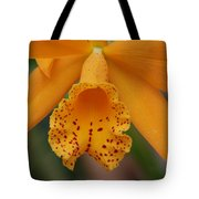 The Orange Orchid Tote Bag