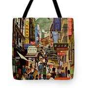 The Orient Is Hong Kong - B O A C  C. 1965 Tote Bag