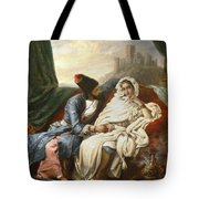 The Oriental Beauty And The Cossack Tote Bag