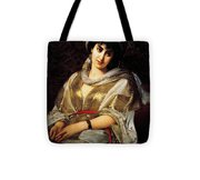 The Oriental Woman Tote Bag