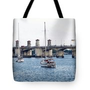 The Original Bridge Of Lions Tote Bag