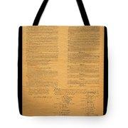 The Original United States Constitution Tote Bag