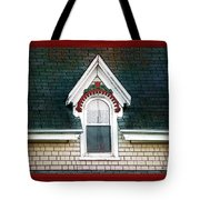The Ornamented Gable Tote Bag
