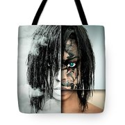 The Other Half Of Me Tote Bag