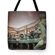 The Other Last Supper In Milan Italy Tote Bag
