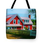 The Other Red House Monhegan Tote Bag