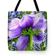 The Other Side Of Anemone   Tote Bag