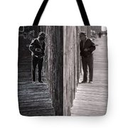 Both Sides Of The Fence Tote Bag