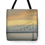 The Other Side Of The Bridge Tote Bag