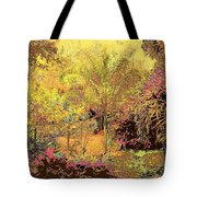 The Other Side Of The Fence Tote Bag by Eikoni Images