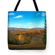 The Other Side Of The Road In Wv Tote Bag
