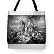 The Outbreak Of The Rebellion In The United States Tote Bag