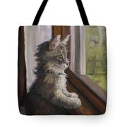 The Outside World Tote Bag