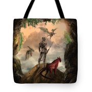 The Outside World Tote Bag by Solomon Barroa