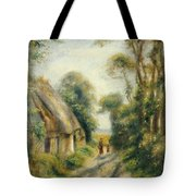 The Outskirts Of Berneval  Tote Bag