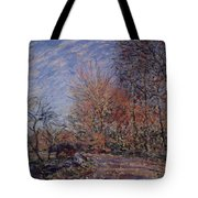 The Outskirts Of The Fontainebleau Forest Tote Bag