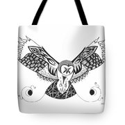The Owl's Catch Tote Bag