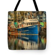 The Pacific Banker Tote Bag