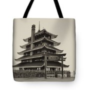 The Pagoda - Reading Pa. Tote Bag