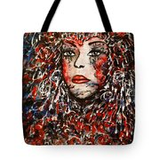 The Painted Lady Tote Bag